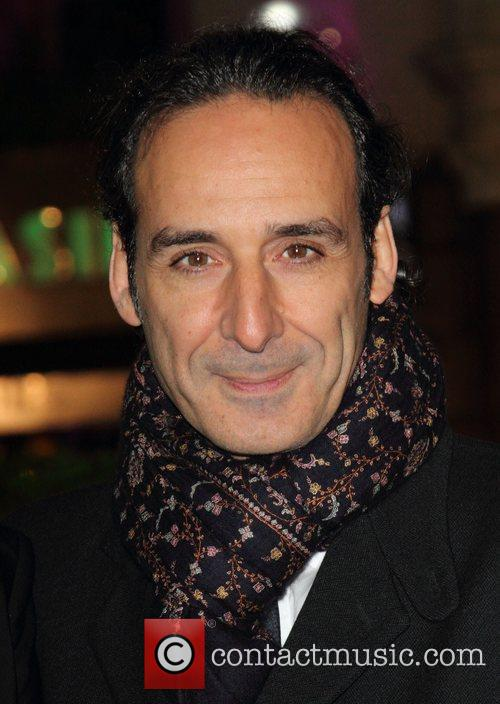 Alexandre Desplat at the UK film premiere of...