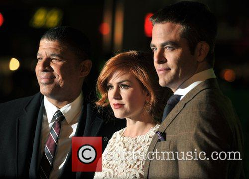 Chris Pine, Isla Fisher, Peter Ramsey and Empire Leicester Square 9