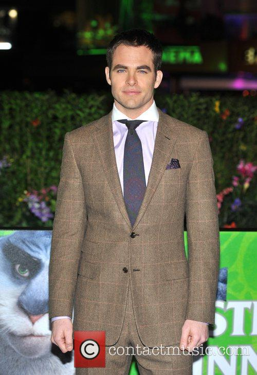 Chris Pine and Empire Leicester Square 8