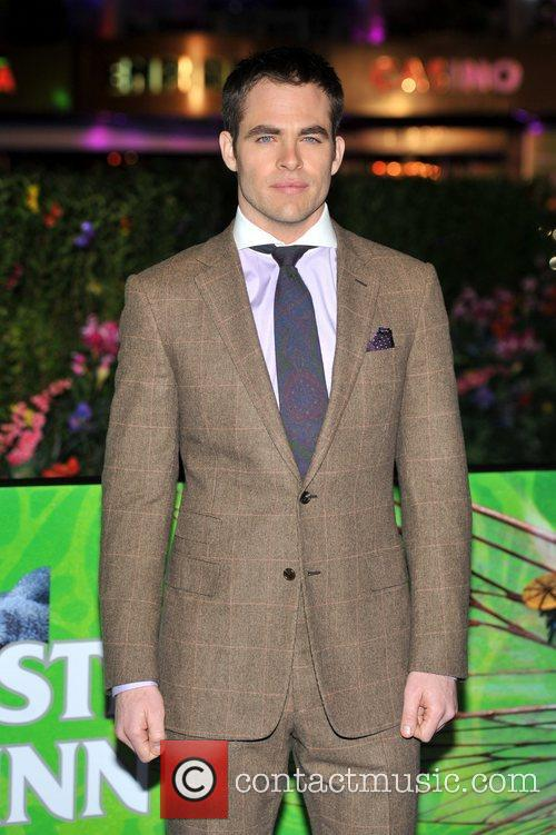 Chris Pine and Empire Leicester Square 10