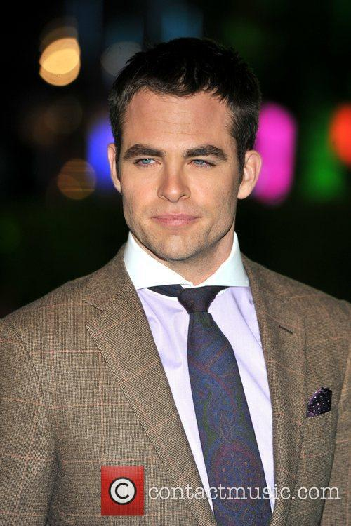 Chris Pine and Empire Leicester Square 6