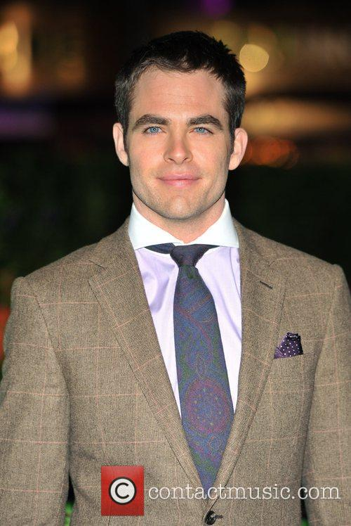 Chris Pine and Empire Leicester Square 5