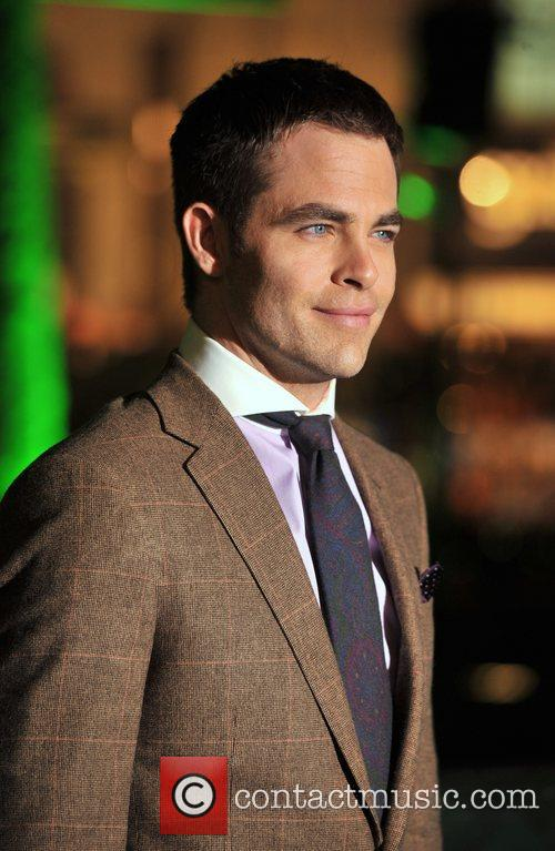 Chris Pine and Empire Leicester Square 7
