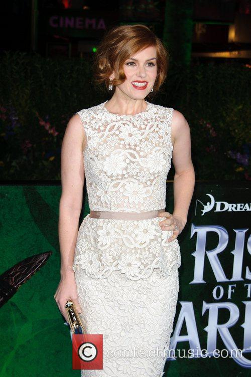 Isla Fisher UK film premiere of 'Rise of...