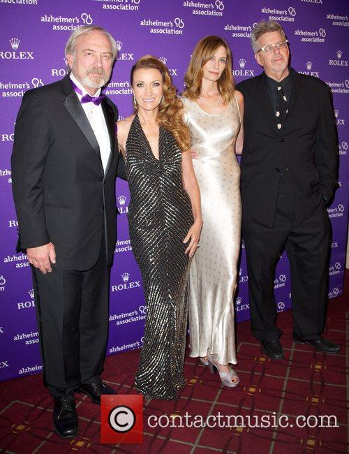 Jane Seymour, James Keach and Trevor Albert