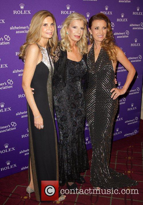 Jane Seymour, Princess Yasmin Aga Khan and Robin Meltzer 1