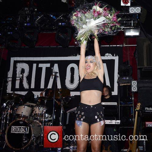 Rita Ora performing at G-A-Y