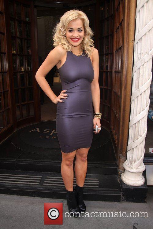 Rita Ora album launch at Asprey London. Roc-...
