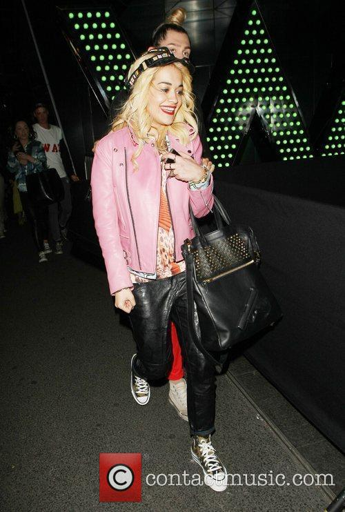 Rita Ora and The Front 11