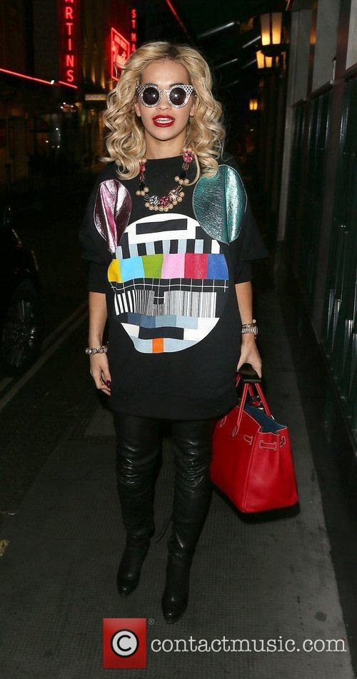 Rita Ora arriving at The Club at The...