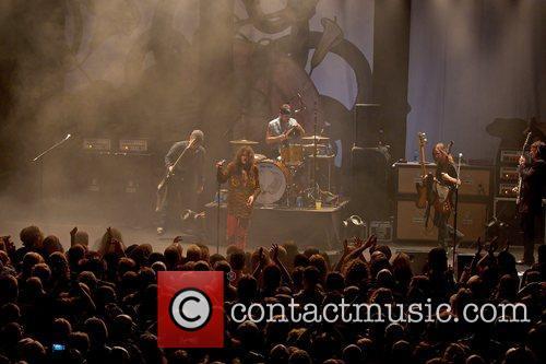 Rival Sons  performing at live at Tradgarn...