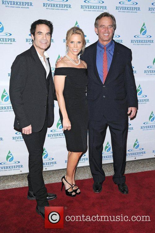 Pat Monahan, Cheryl Hines and Robert F Kennedy 2