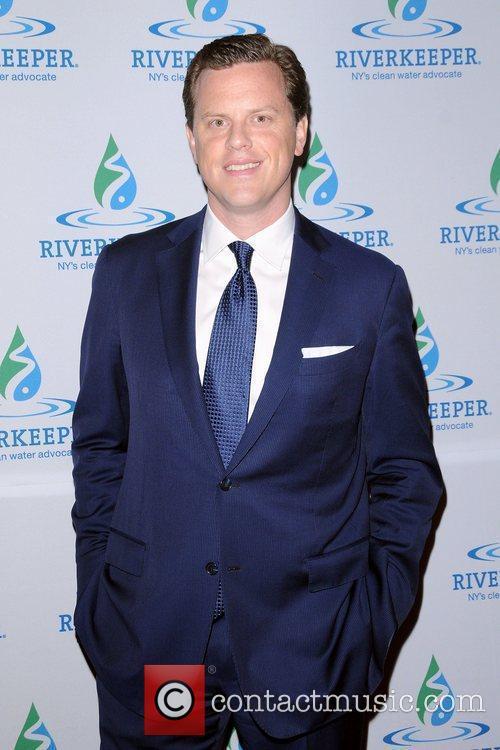 Willie Geist at the 2012 Riverkeeper Fishermen's Ball....