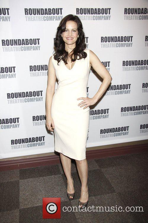 Carla Gugino  Press conference for the Roundabout...