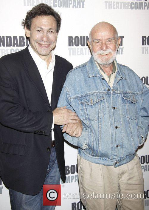Gordon Edelstein and Athol Fugard  Press conference...