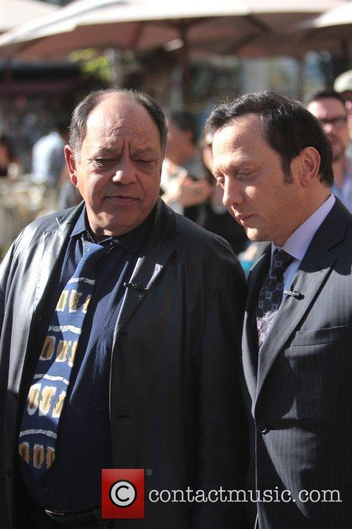 Cheech Marin and Rob Schneider 5