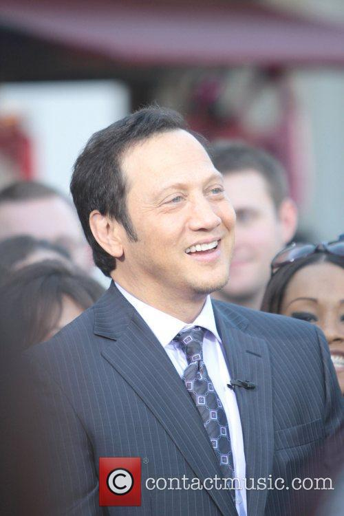 Rob Schneider appears on 'Extra' at The Grove...