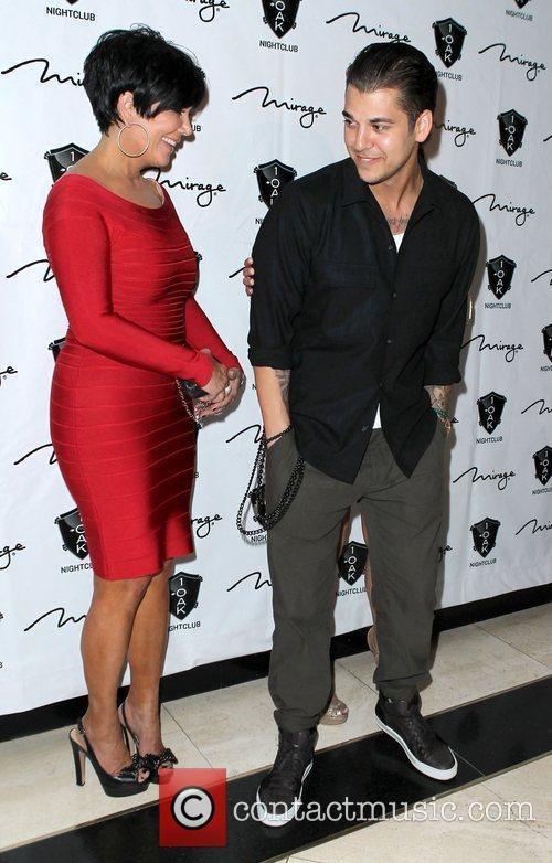 Kris Jenner and Rob Kardashian 6