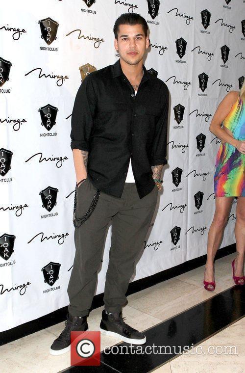 Rob Kardashian celebrates his birthday at Sin City...