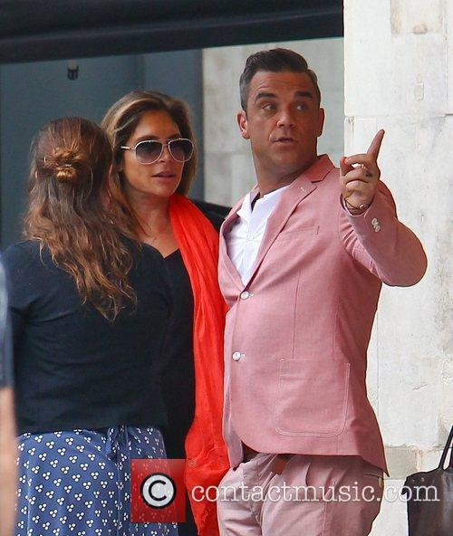Ayda Field, Robbie Williams
