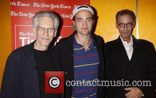 David Cronenberg and Robert Pattinson 2