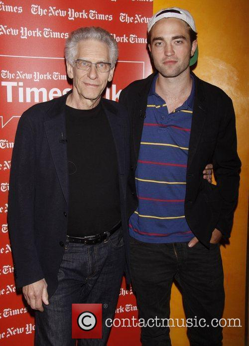 David Cronenberg and Robert Pattinson 1