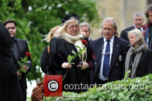 Dwina Gibb The funeral of Robin Gibb held...