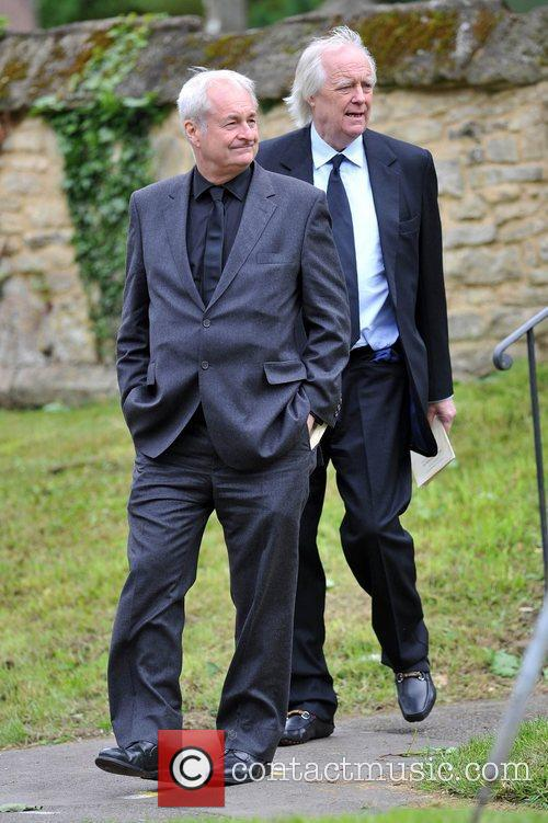 Sir Tim Rice The funeral of Robin Gibb...