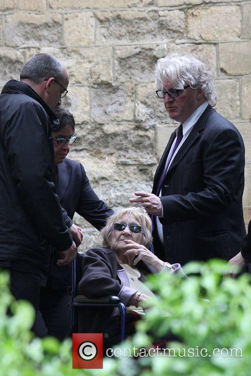 Barbara Gibb The funeral of Robin Gibb held...