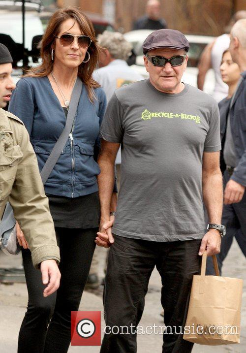 Robin Williams and Susan Schneider 3
