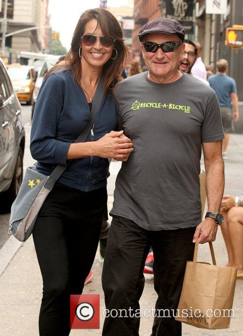 Robin Williams and Susan Schneider 2
