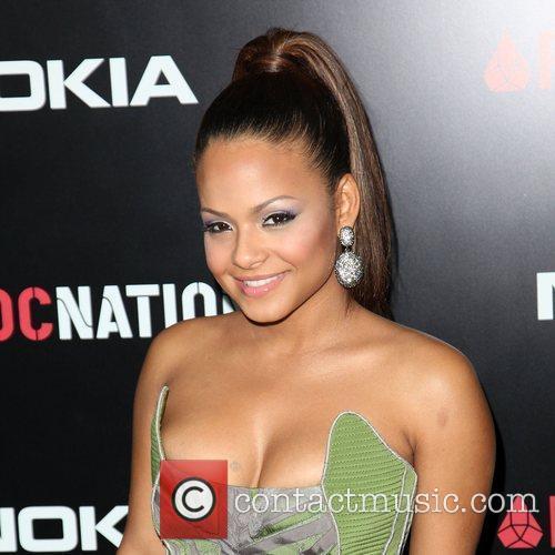 Christina Milian Roc Nation Pre-Grammy Brunch at Soho...