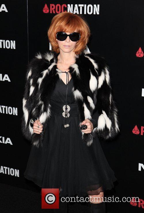 Linda Ramone Roc Nation Pre-Grammy Brunch at Soho...