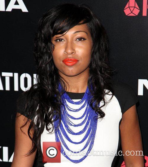 Melanie Fiona Roc Nation Pre-Grammy Brunch at Soho...