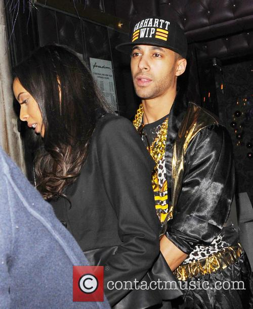 Pregnant Rochelle Humes, Rochelle Wiseman and Marvin Humes...