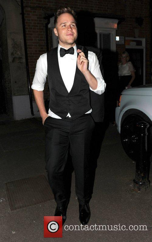Olly Murs The wedding of Rochelle Wiseman and...