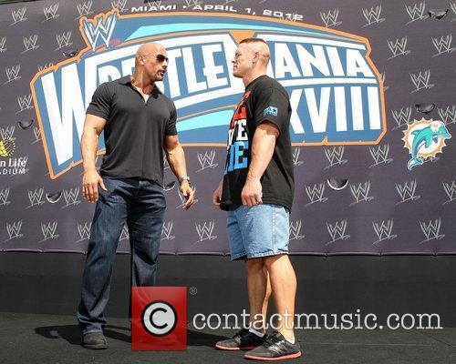 John Cena and Dwayne Johnson 2