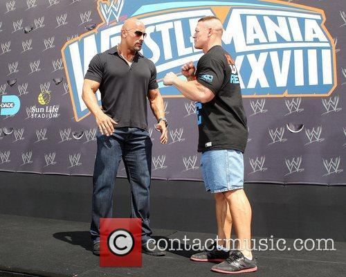 John Cena and Dwayne Johnson 3