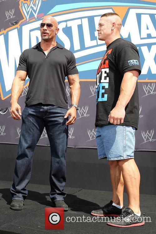 John Cena and Dwayne Johnson 4