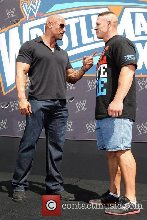 John Cena and Dwayne Johnson 5