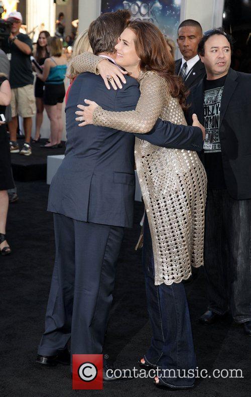 Alec Baldwin and Brooke Shields Premiere of Warner...