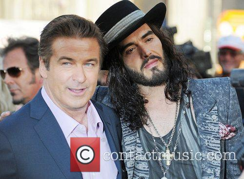 Alec Baldwin and Russell Brand Premiere of Warner...