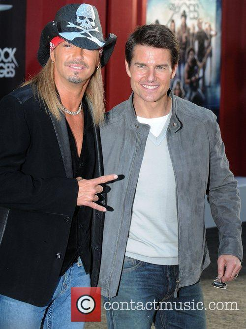 Bret Michaels and Tom Cruise 7