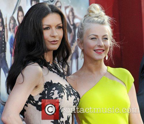 Catherine Zeta Jones and Julianne Hough 2