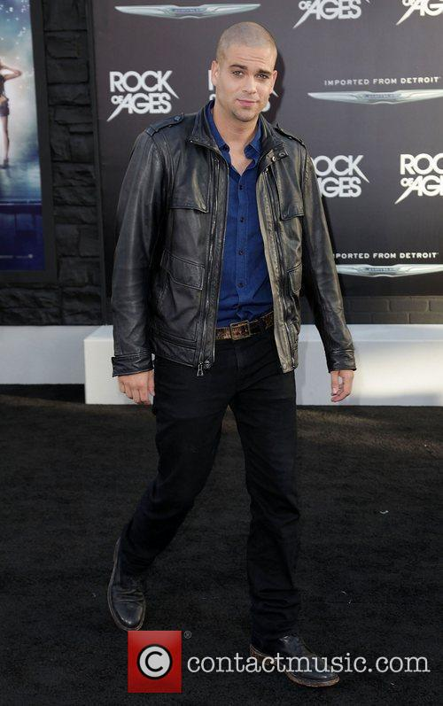 Mark Sailing Premiere of Warner Bros. Pictures' Rock...
