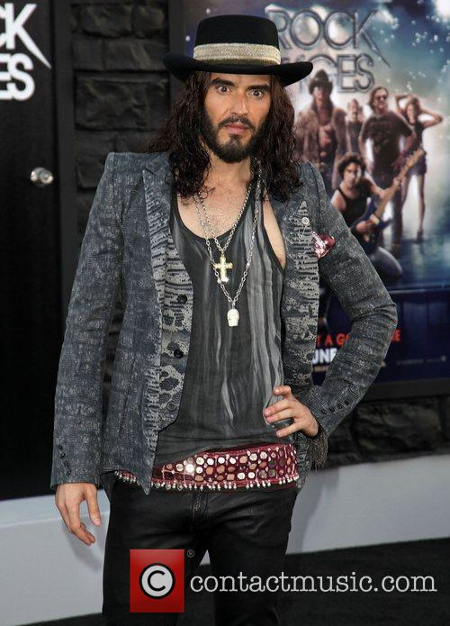 Russell Brand Premiere of Warner Bros. Pictures' Rock...