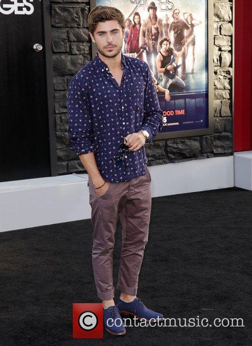 Zac Efron and Grauman's Chinese Theatre 7