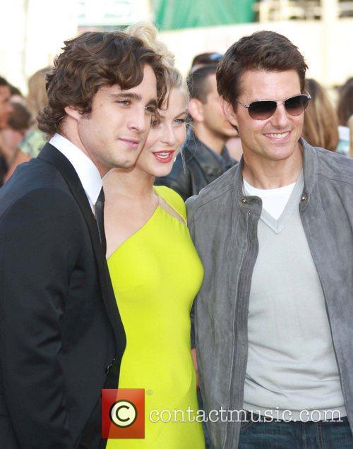 Diego Boneta, Julianne Hough, Tom Cruise Premiere of...