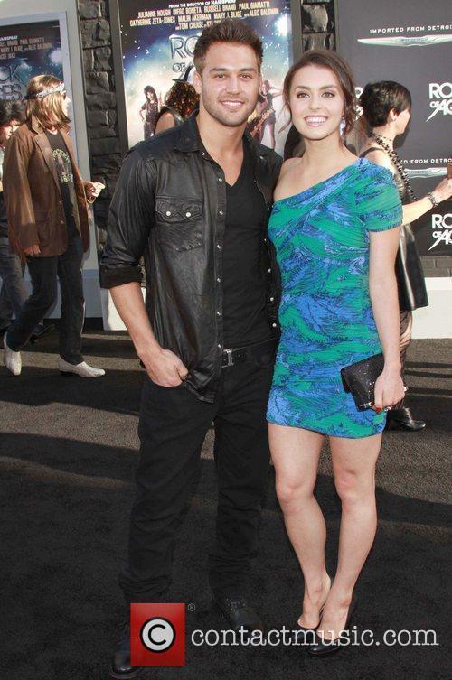 Kathryn McCormick, Ryan Guzman Premiere of Warner Bros....