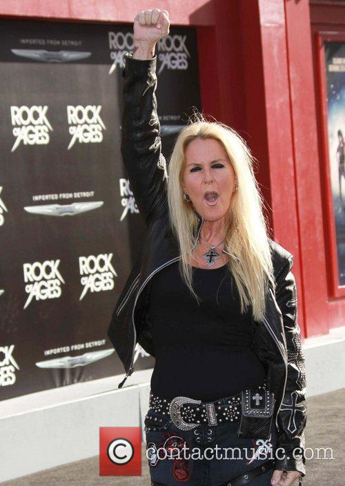 Lita Ford and Grauman's Chinese Theatre 5
